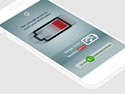 Navigation App Design navigation mobile app car auto