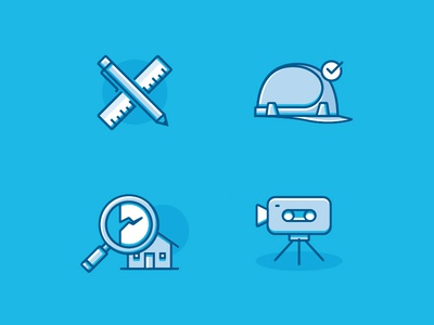 Technical expertise icons