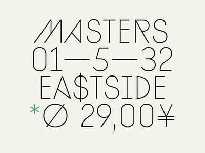 Diamonds Thin vector branding logo design sans serif type design typography font geometric typeface