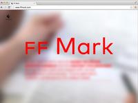 FF Mark Microsite