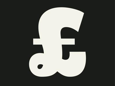Pluto Black — £ £ type design typo letterforms graphic sansserif sans logo design hvdfonts hvd pluto specimen typography typedesign 2011 script geometric fonts