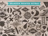 Brandon Printed Extras