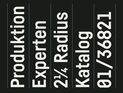 Fabrikat Kompakt — Bold graphic sansserif sans typefamily industry industrial logo design hvdfonts ck hvd christophkoeberlin hannesvondoehren kompakt fabrikat specimen typography typedesign geometric fonts