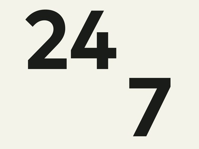 FF Mark Bold sanserif constructed 247 numbers typographic typedesign type branding fontfont typo sans hvdfonts design geometric typography font fonts hvd typeface