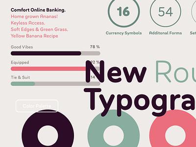 Bouba Round arrows digital ux ui branding brand geometric circle rounded corners soft edges pro cyrillic greek soft friendly