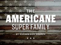 Americane Type Family