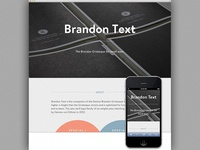 Microsite: Brandon Text
