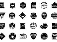 JJ's Badges / Expanded Set in Progress