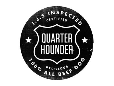 Quarter hounder sm