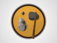 Nautil.us Icon / Stone Tools