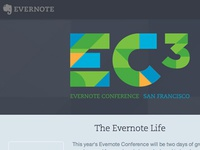 Evernote Conference Identity