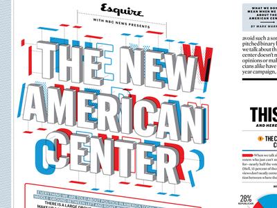 Esquire / The New American Center intro