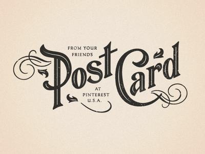 Pinterest / Post Card Type