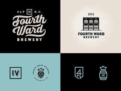 4WB // Logo family