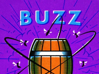 4WB // Buzz label