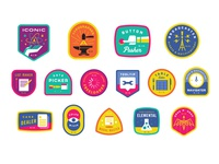 FB Badge set