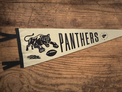 Go Panthers Pennant