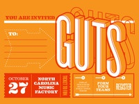 GUTS 2011 / Poster tube labels