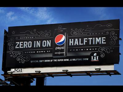 Super Bowl LI / Pepsi Billboards