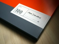 MAX100 / Final slipcase labels (artist's pack)