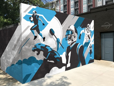 Panthers Mural R.1