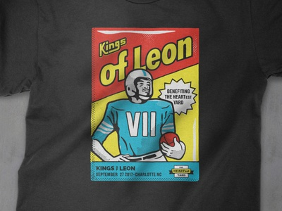 Kings of Leon Benefit Shirt