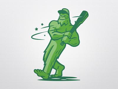 PDX Eastside training / Mascot bigfoot pdx mascot training baseball