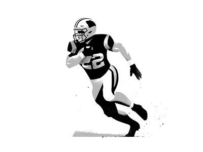 CMC christian mccaffrey illustration sports football nfl panthers