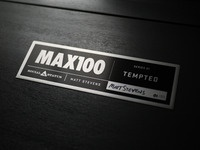 MAX100 plates / signed & installed