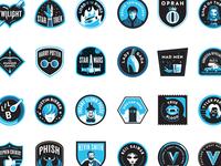 Vulture Badges Full Set