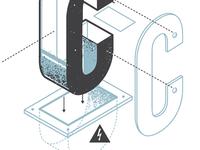 The Exploded Alphabet / C