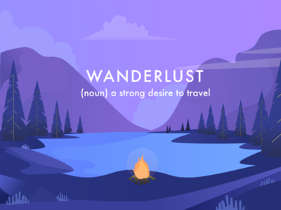 Wanderlust illustration