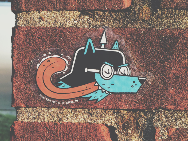 Stickers stickers goons illustration