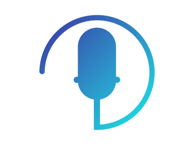 Modern Microphone Icon Design