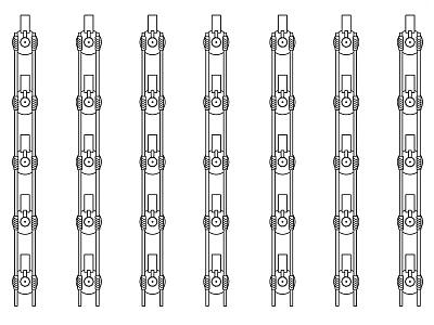 Motor Installation Proposal 2 adobe illustrator process pattern motors layout installation