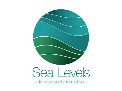 Sea Levels – An interactive augmented reality app adobe illustrator illustration logo ui design augmented reality app design