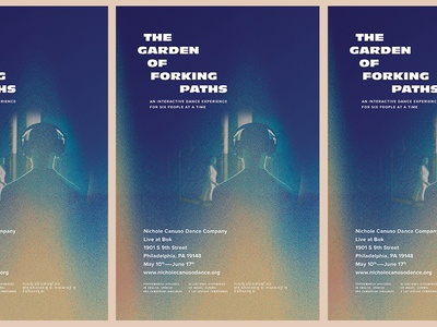 The Garden Of Forking Paths poster paths forking garden dance