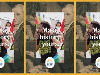 Make History Yours brand branding history