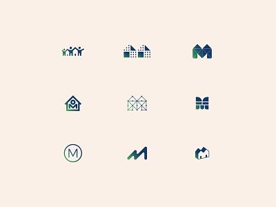 Mmmmm, housing housing community logo house