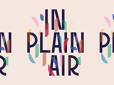 In Plain Air type in plain air wordmark logo