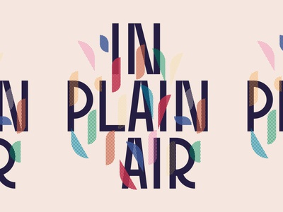 In Plain Air type in plain air wordmark logo