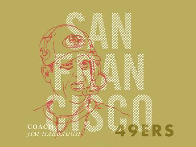 Super Bowl XLVII super bowl xlvii 49ers ravens harbaugh san francisco baltimore football illustration line drawing