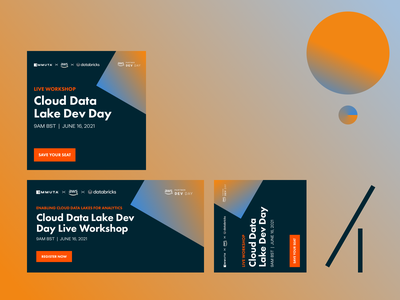 Cloud Data Workshop Display Ads data security data access virtual workshop workshop ads marketing conversion design cro saas software web design ux ui