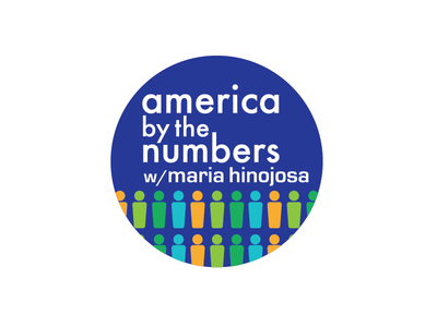 America By The Numbers with Maria Hinojosa Logo