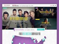 One Direction Tour Concept