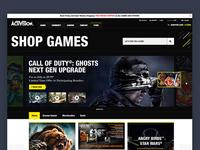 Shop Activision Concept