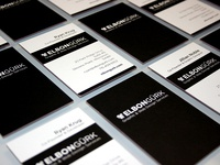 Elbongürk- New Luxe Business Cards