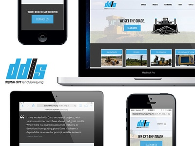 DDLS Branding and Responsive Web Design