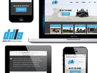 DDLS Branding and Responsive Web Design