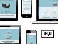 IH4U logo & website design